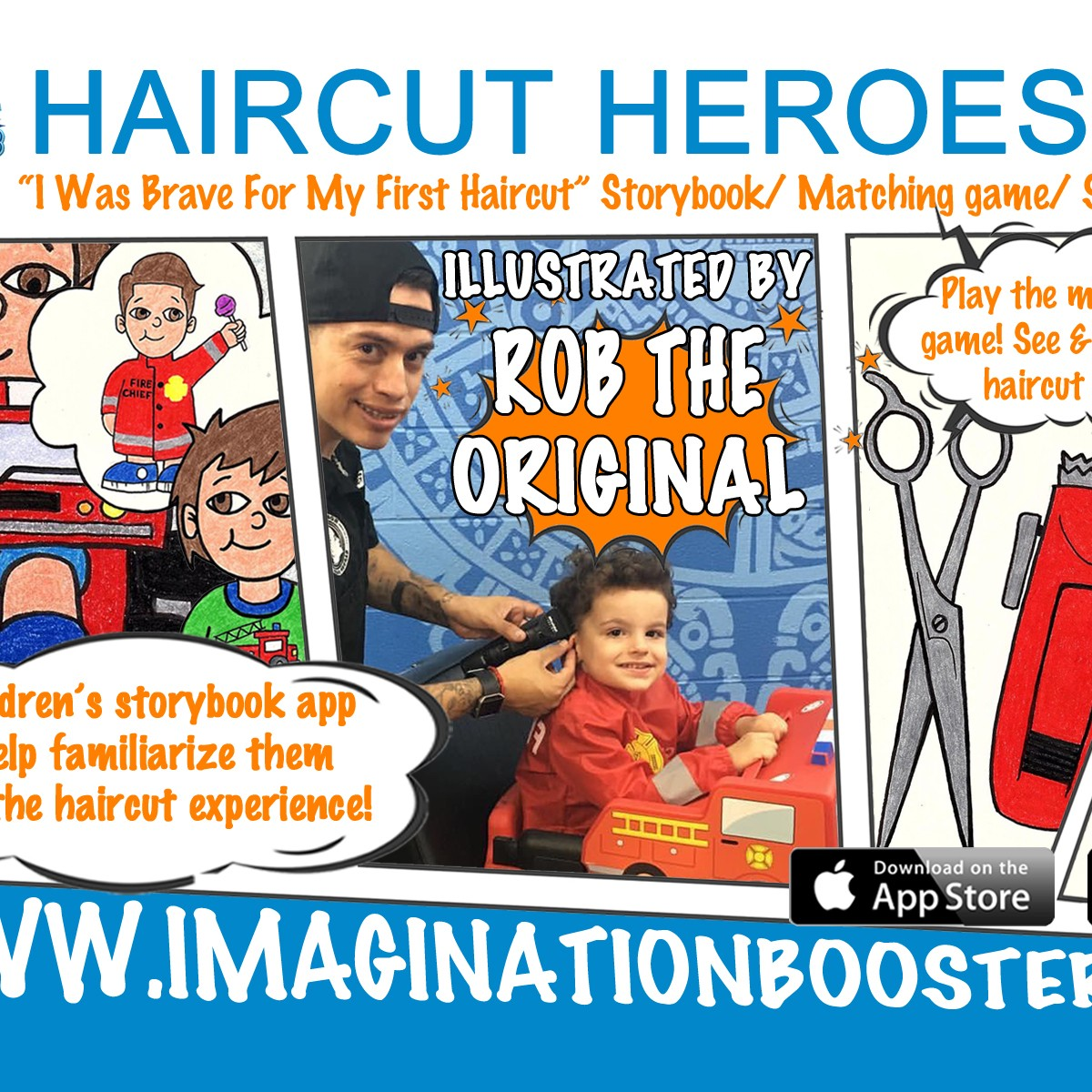 Haircut Heroes Childrens Storybook App